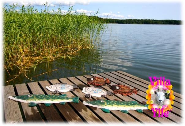 Lämpimiä kaloja Varma Fiskar Warm Fishes