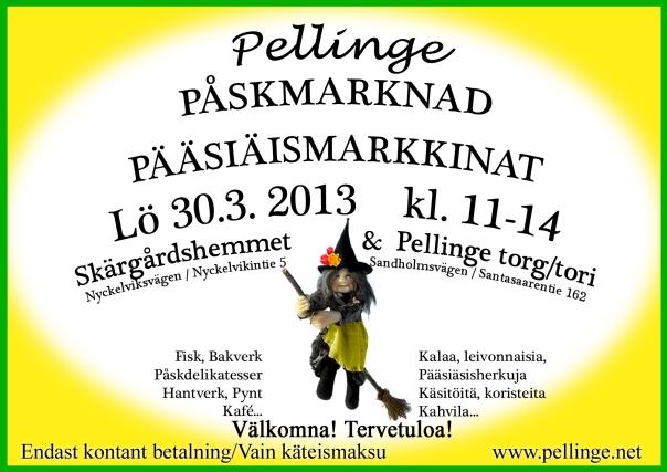 Pellinge Påskmarknad Pääsiäsmarkkinat Easter Market