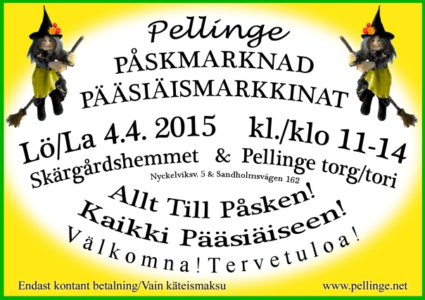 Pellinge påskmarknad-Pellinki Pääsiäismarkkinat